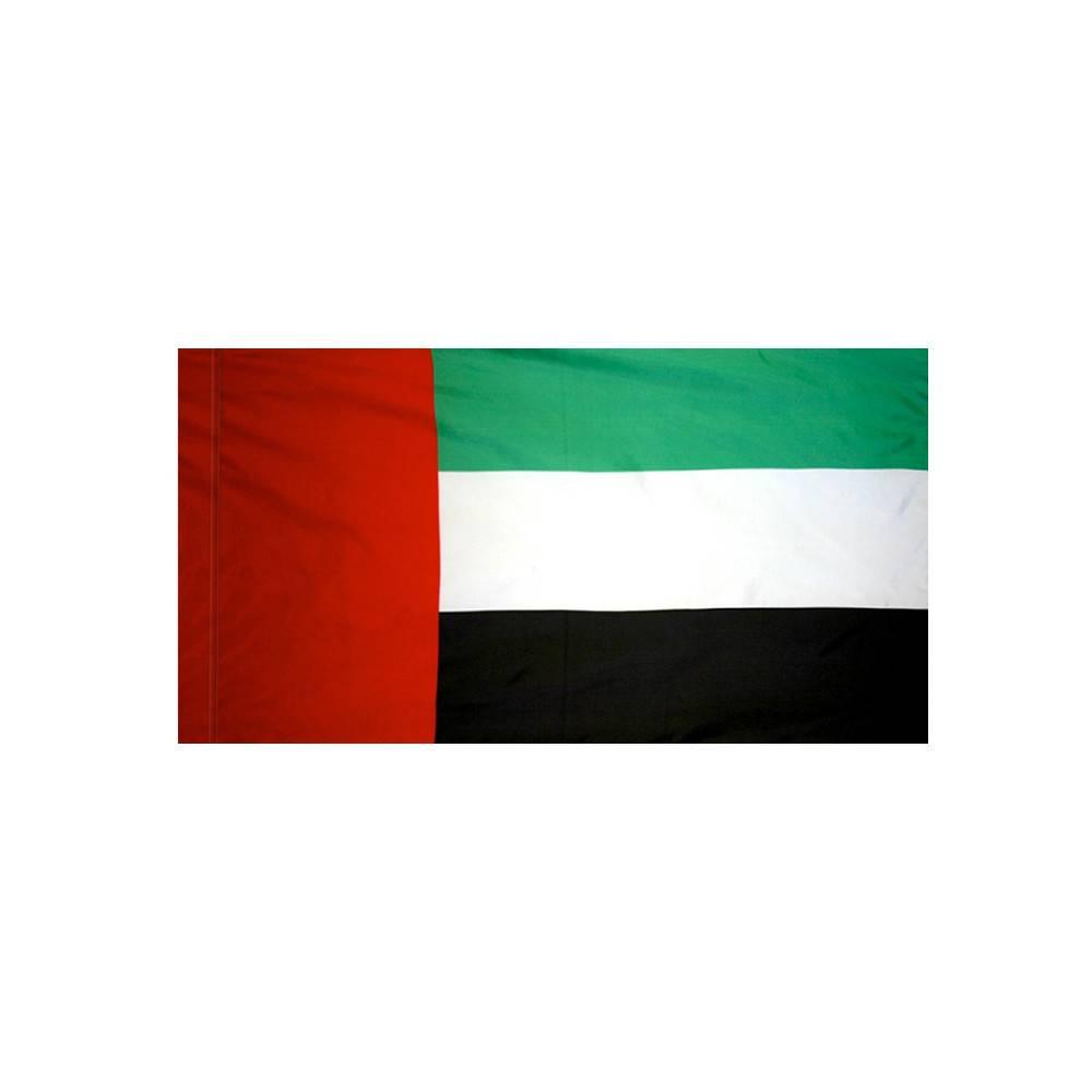 United Arab Emirates Flag with Polesleeve