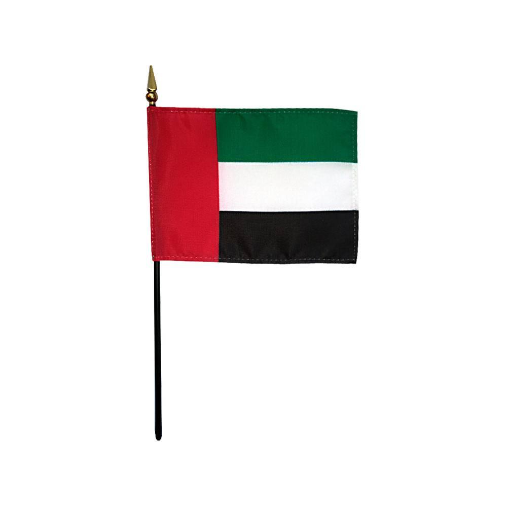 United Arab Emirates Stick Flag 4x6 in