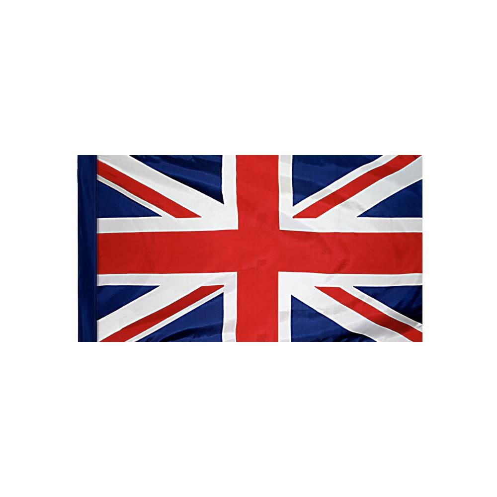 United Kingdom Flag with Polesleeve
