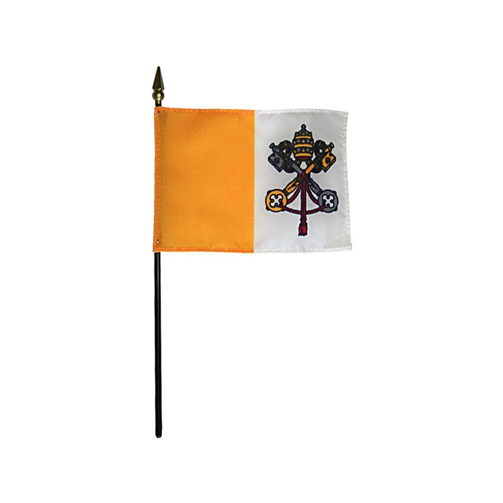 Vatican City Stick Flag