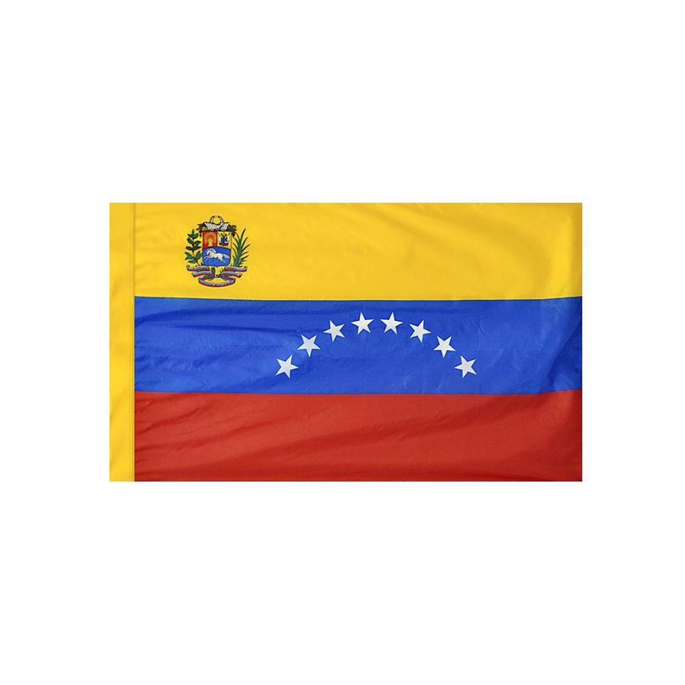 Venezuela Flag with Polesleeve
