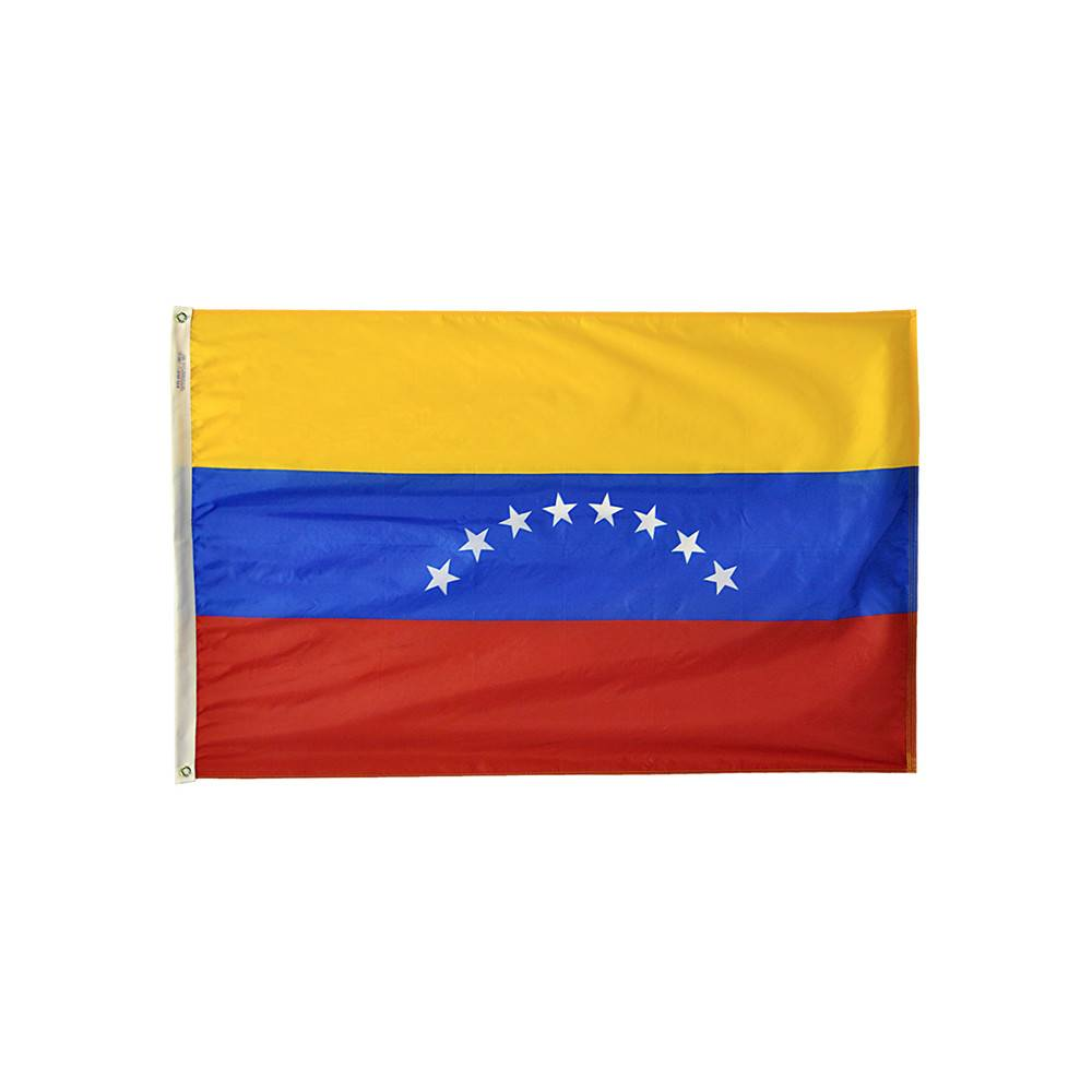Venezuela Flag No Seal