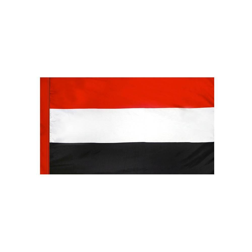 Yemen Flag with Polesleeve