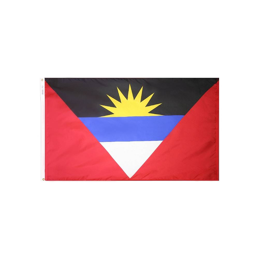 Antigua & Barbuda Flag - All-Weather Nylon
