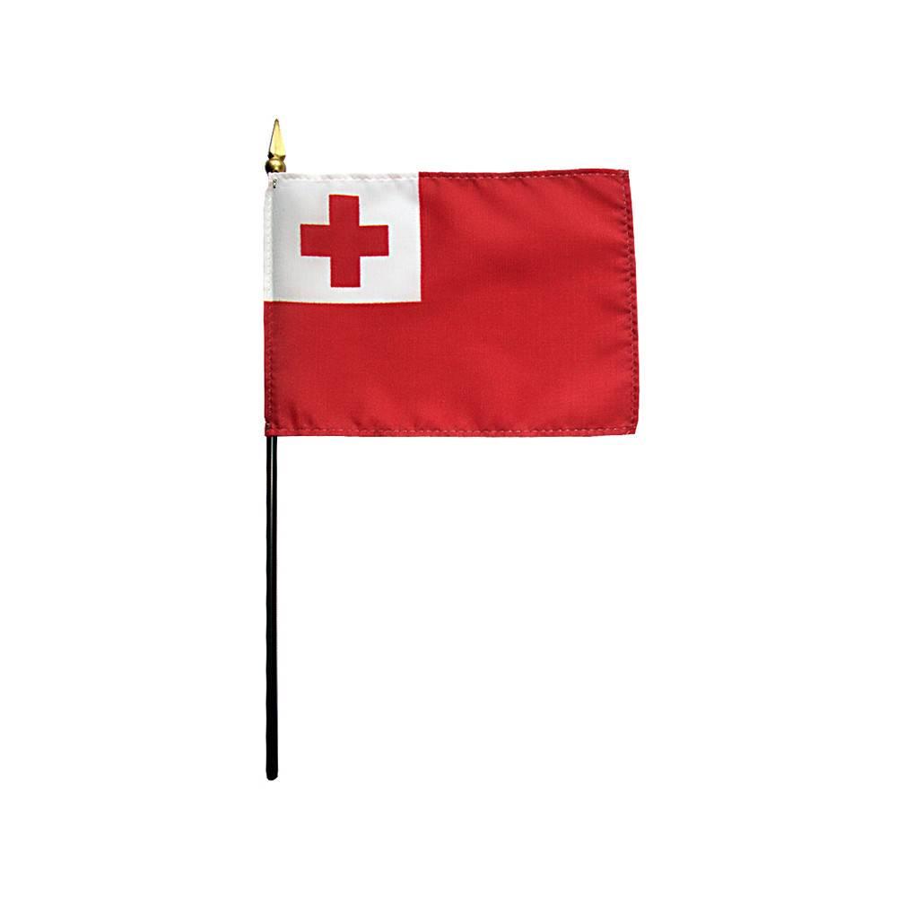Tonga Stick Flag 4x6 in