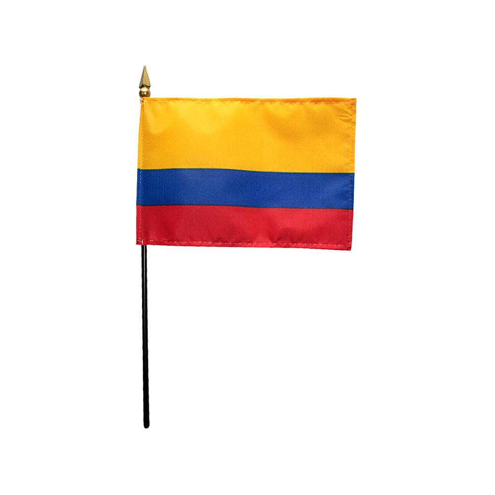 Colombia Stick Flag