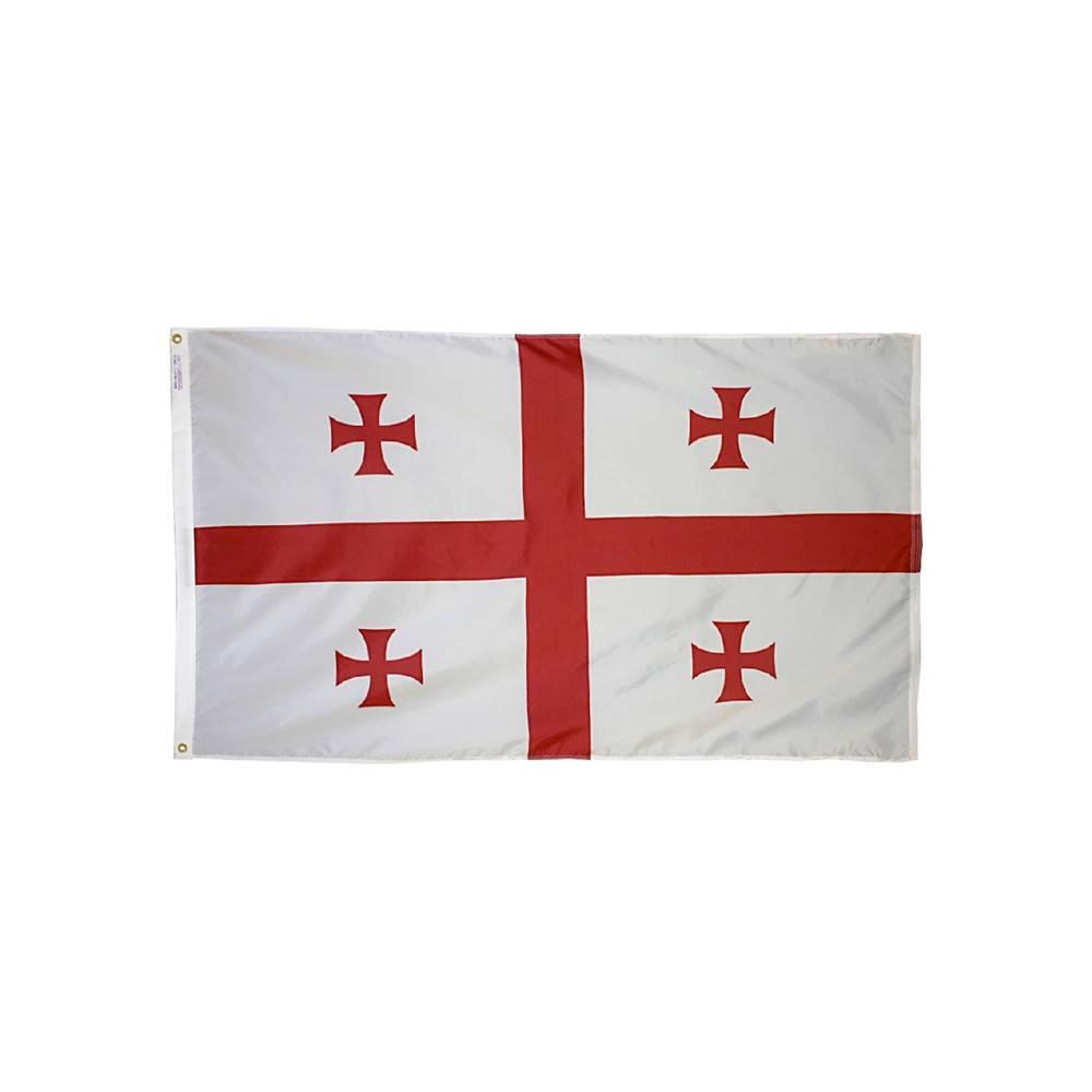 Republic of Georgia Flag