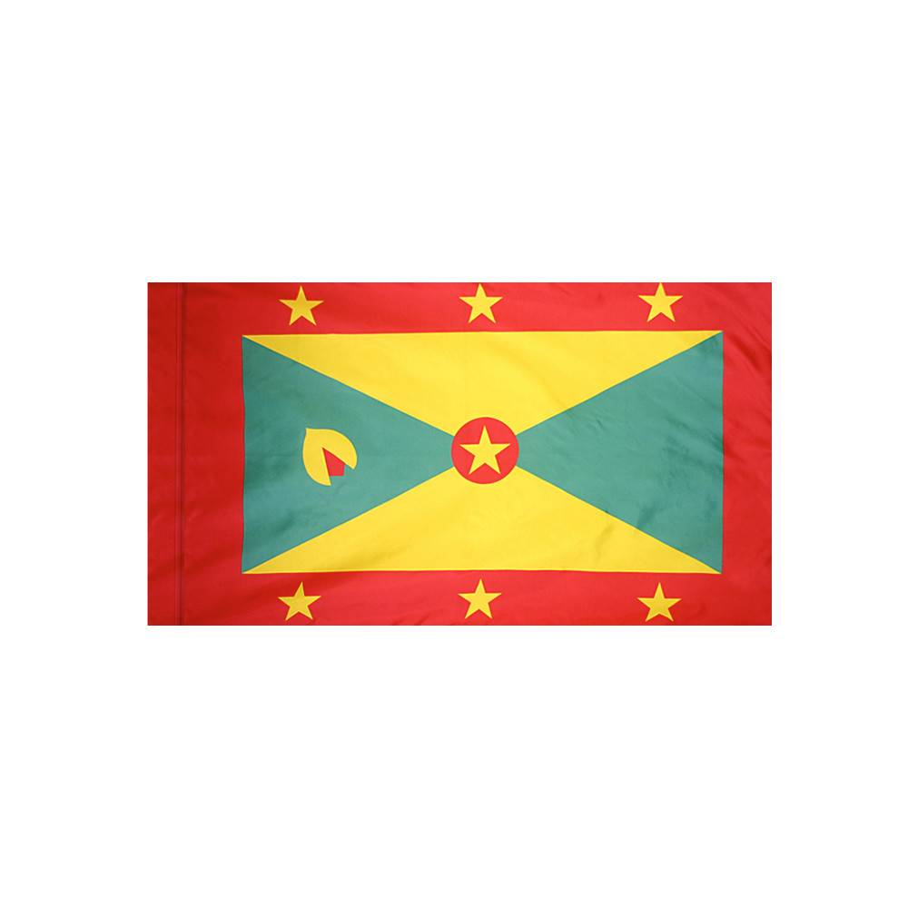 Grenada Flag with Polesleeve