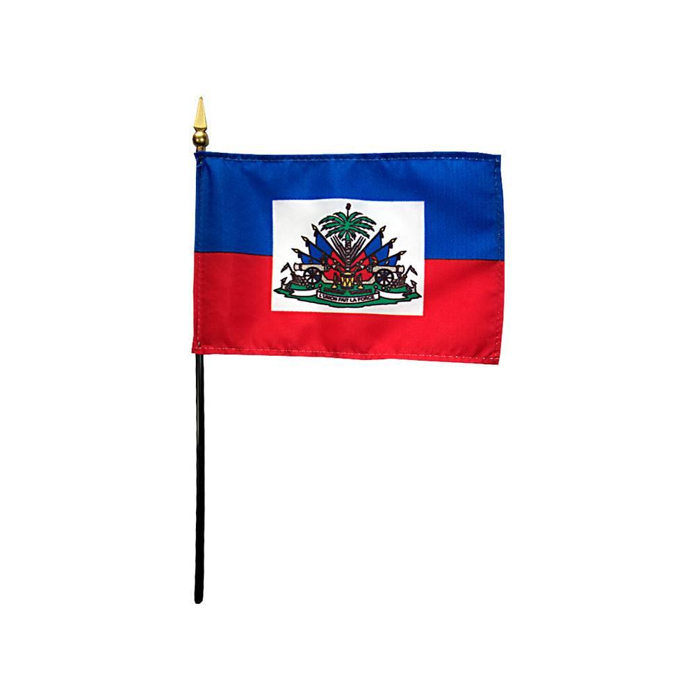 Haiti Stick Flag