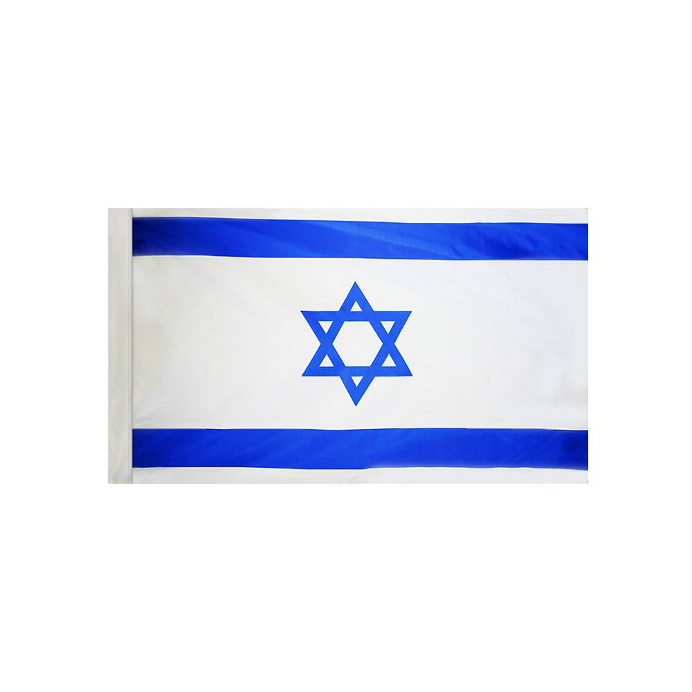 Israel Flag with Polesleeve
