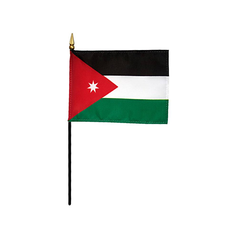 Jordan Stick Flag 4x6 in