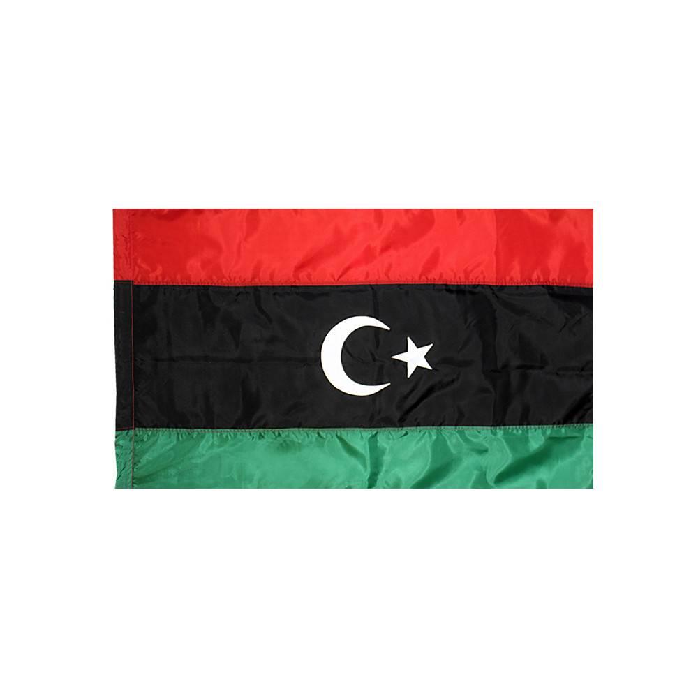 Libya Flag with Polesleeve