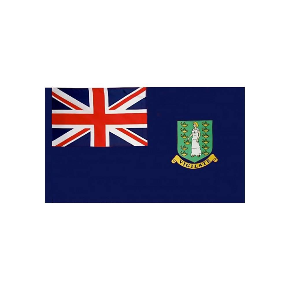 British Virgin Islands Flag with Polesleeve