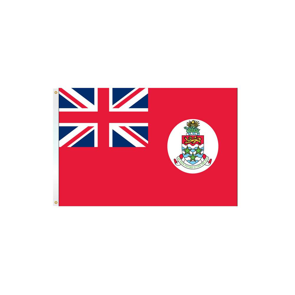 Red Cayman Islands Flag