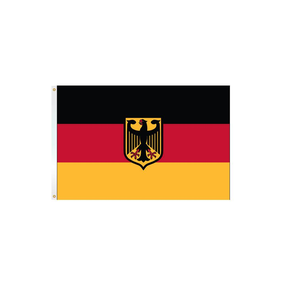 Germany Flag with Eagle