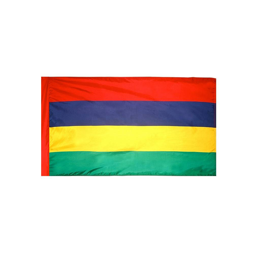 Mauritius Flag with Polesleeve