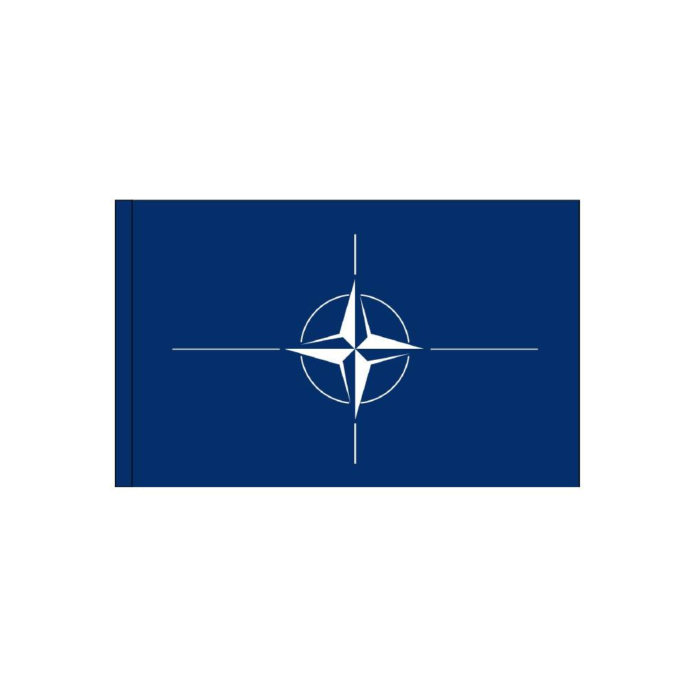 NATO Flag with Polesleeve