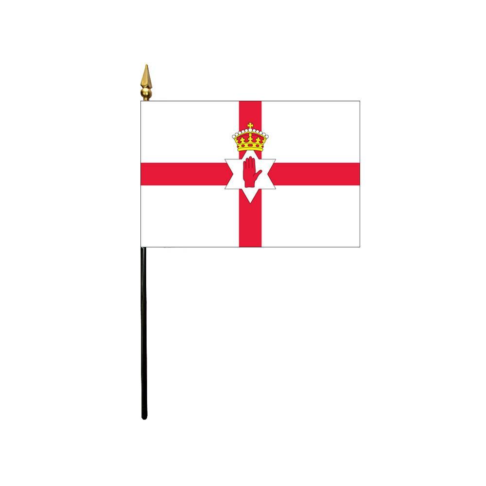 Northern Ireland Stick Flag 4x6 in