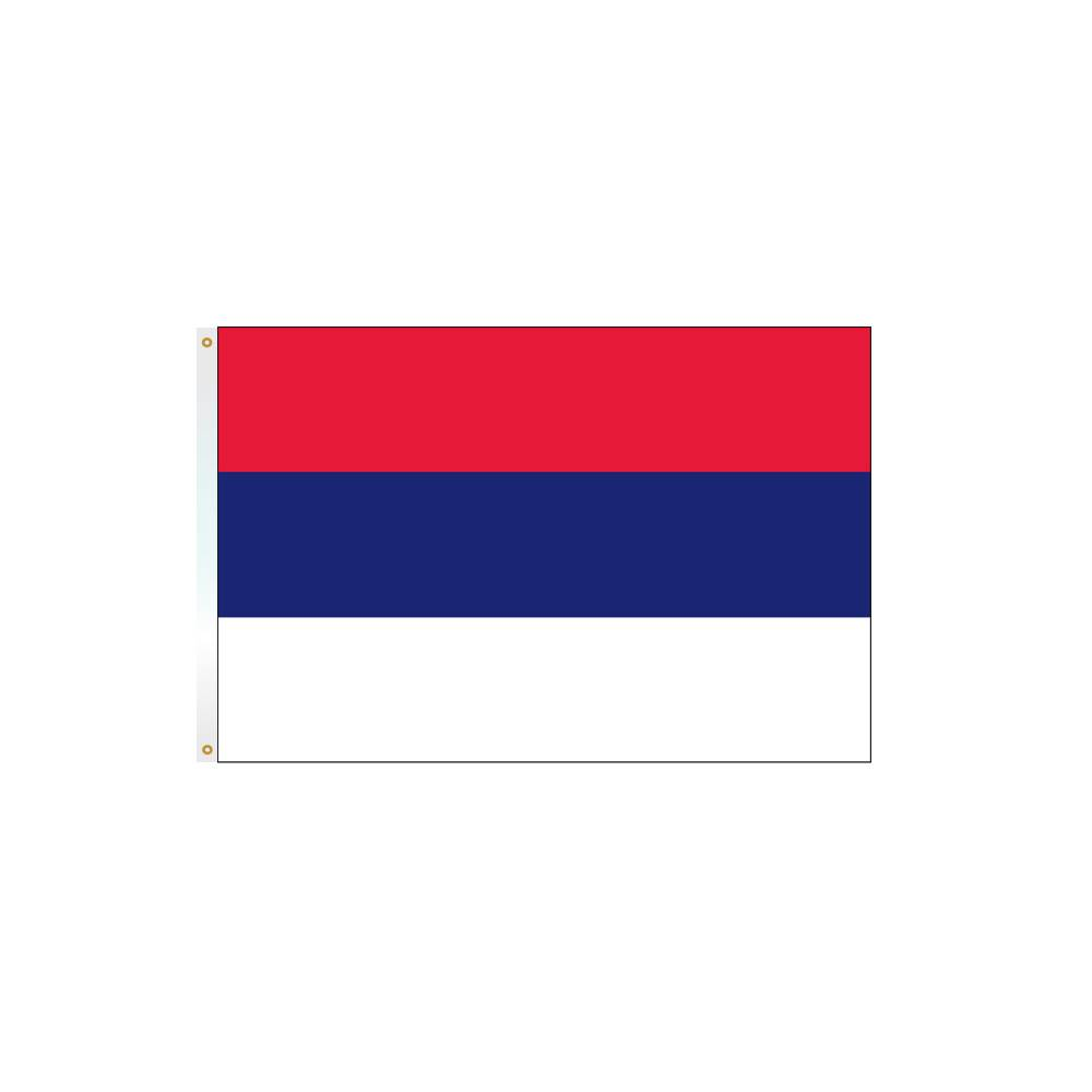 Serbia Flag without Seal