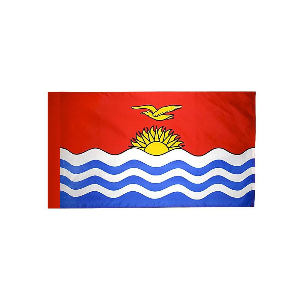 Kiribati Flag with Polesleeve