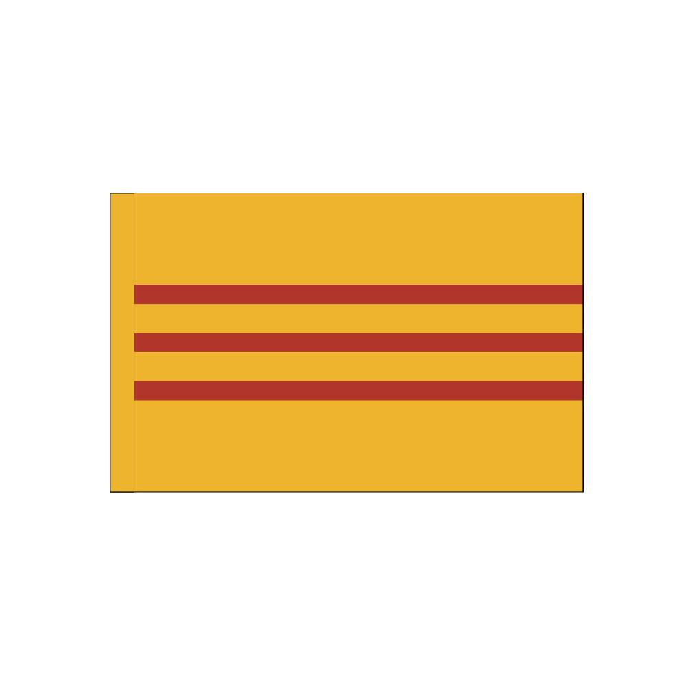 South Vietnam Flag with Polesleeve