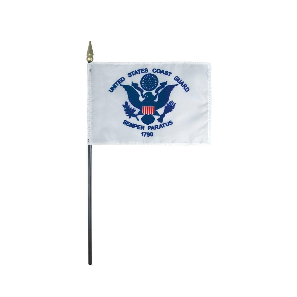 Coast Guard Stick Flag