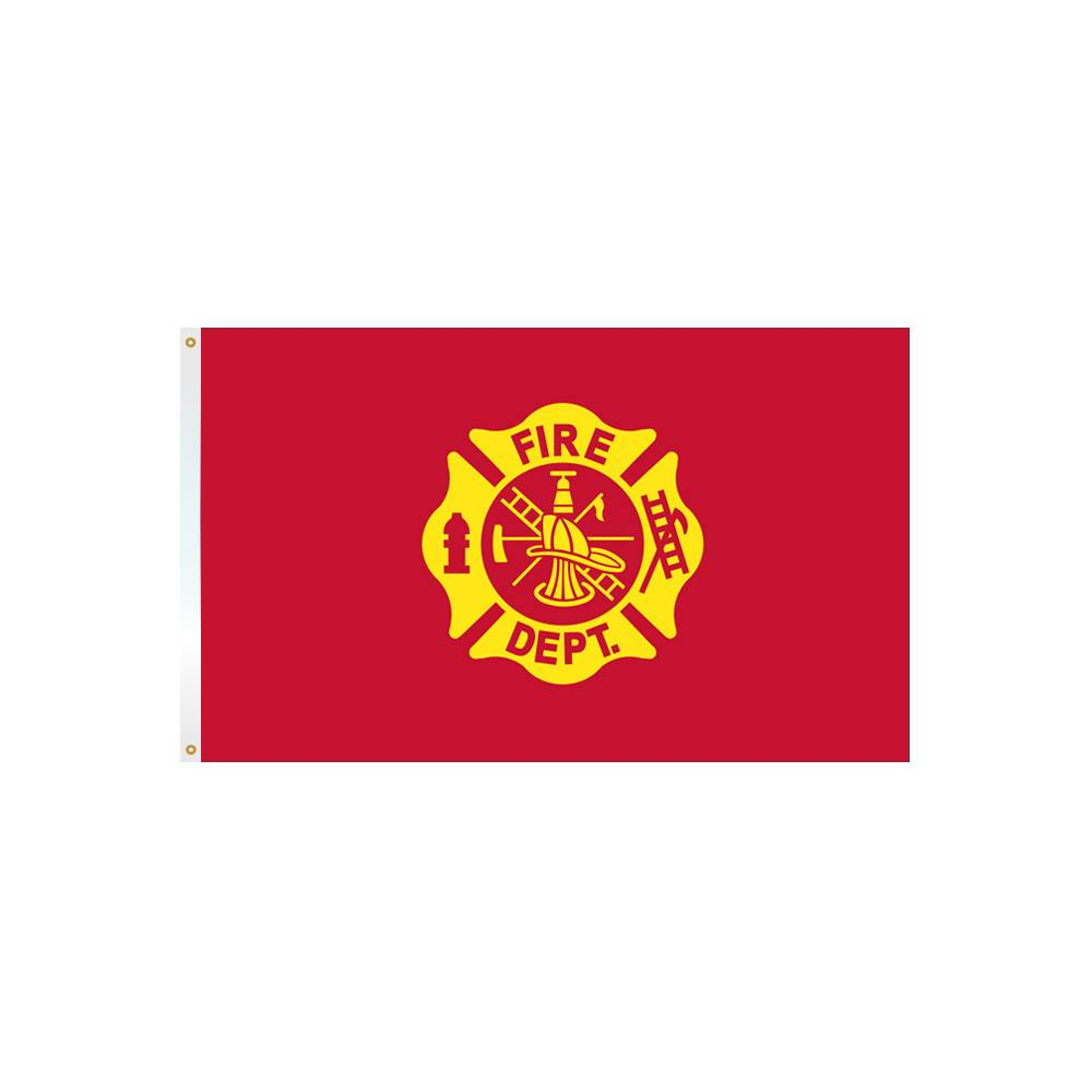 3x5 ft. Fire Department Flag