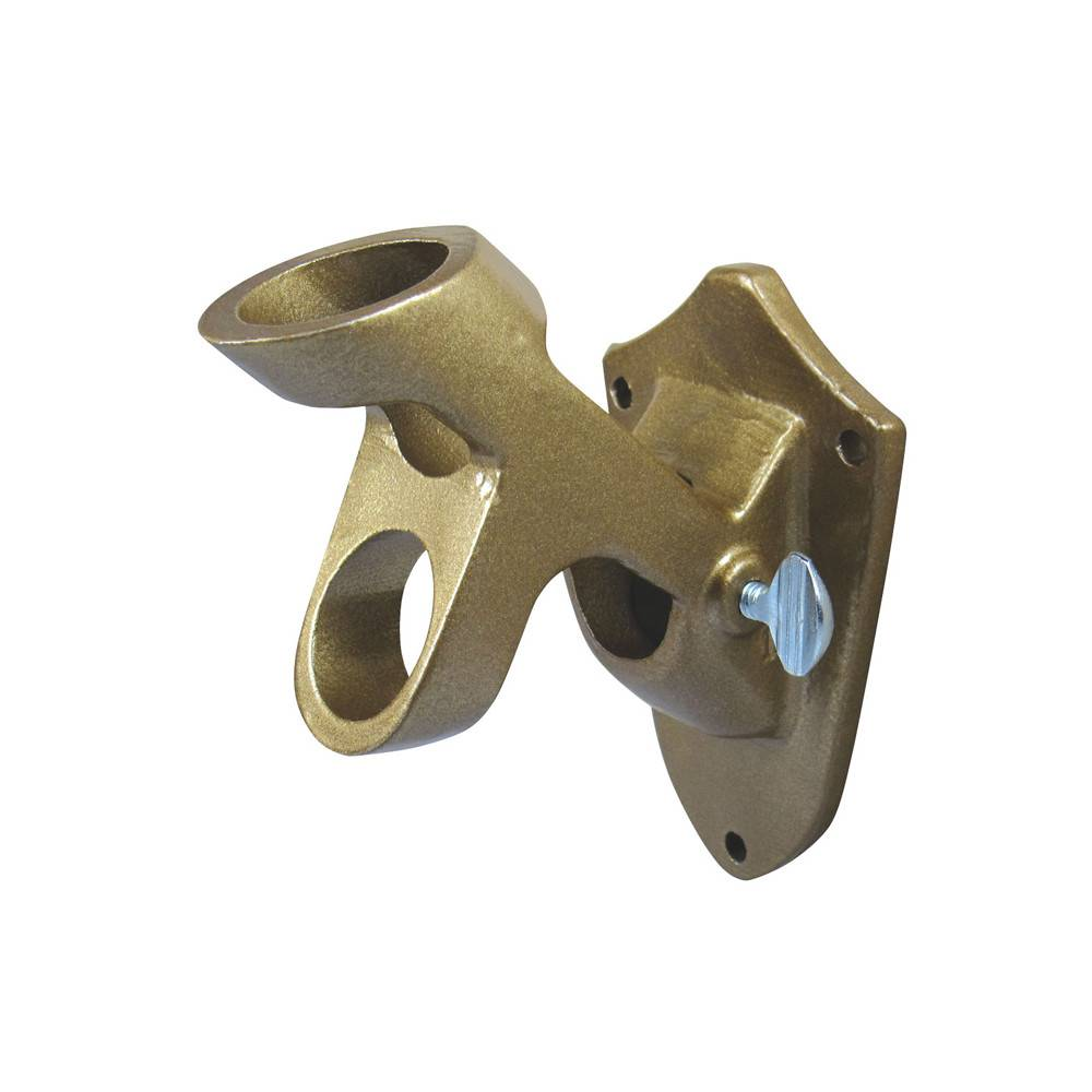 Gold 2-Option Bracket for 1 in. Diameter Flagpole
