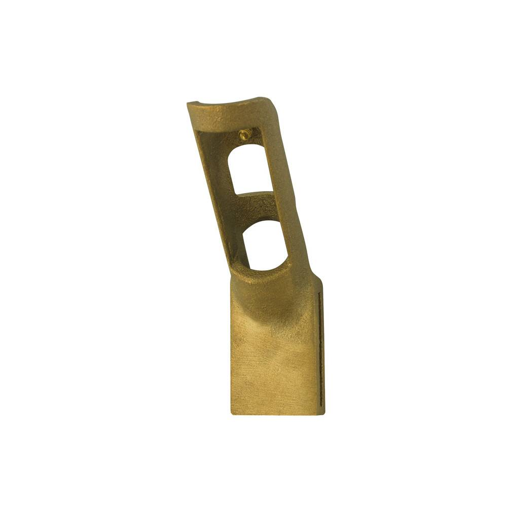 Bronze Electrical Pole Bracket for 1 in. Diameter Flagpole