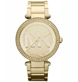 Michael Kors Parker Gold-Tone Stainless Steel Bracelet 39mm