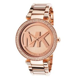 Michael Kors Parker Rose Gold-Tone Stainless Steel Bracelet 39mm