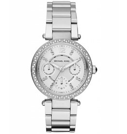 Michael Kors Chronograph Mini Parker Stainless Steel Bracelet 33mm