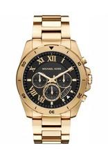 Michael Kors Chronograph Brecken Gold-Tone Stainless Steel Bracelet 44mm