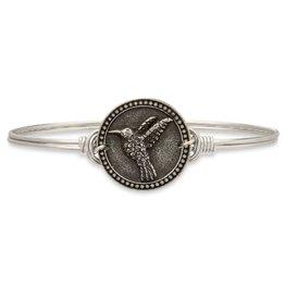 Luca & Danni Hummingbird Silver Wire Wrapped Bracelet