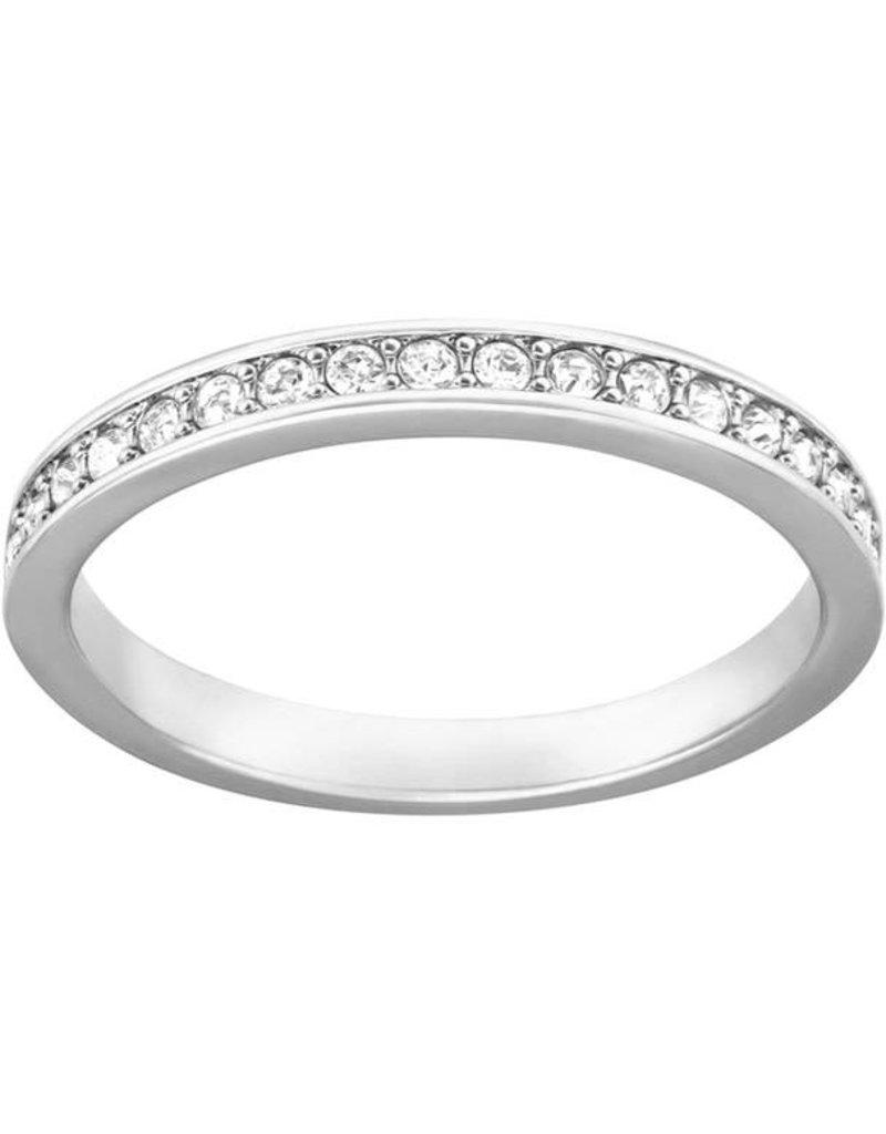 Swarovski Rare Ring, White, Rhodium Plating 52 (US 6)