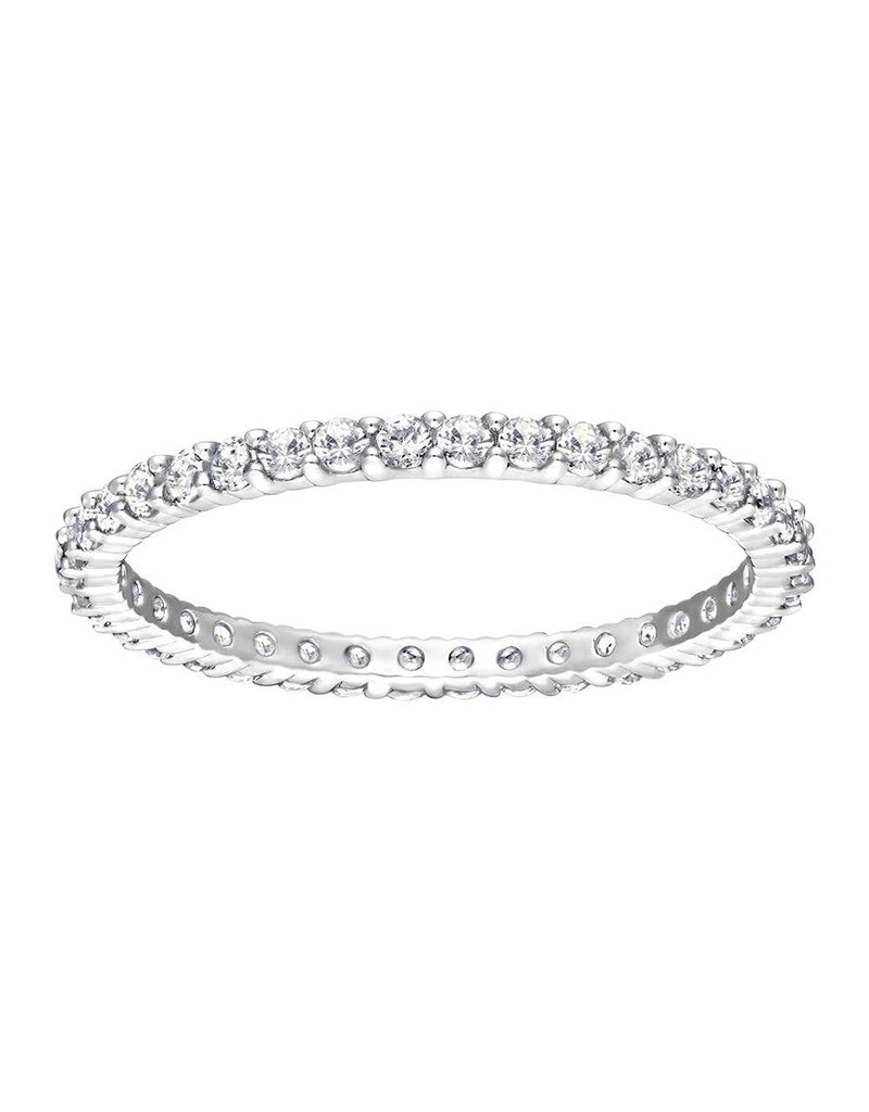 Swarovski Vittore Ring, White, Rhodium Plating 55 (US 7)