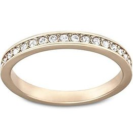 Swarovski Rare Ring, White, Rose Gold Plating 55 (US 7)