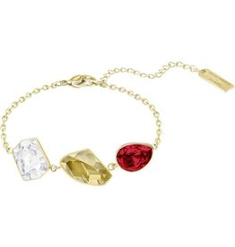 Swarovski Prisma Bracelet, Multi-Colored, Gold Plating