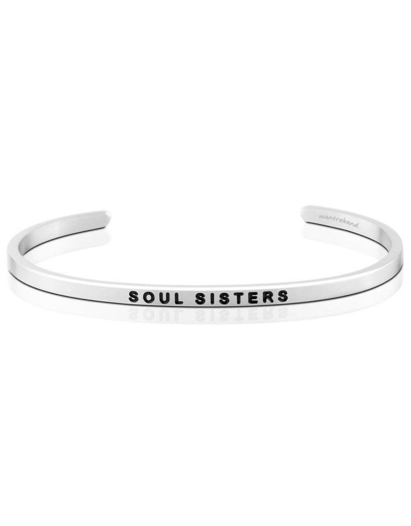 Mantraband Soul Sisters, Silver