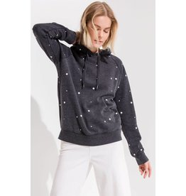 Z Supply The Star Print Pullover, Black/Gray