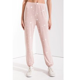 Z Supply The Lux Star Jogger,  Silver Peony