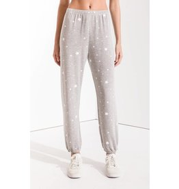 Z Supply The Lux Star Jogger, Heather Grey