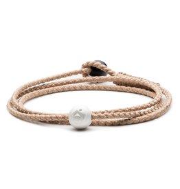 Lokai Triple Wrap Bracelet - Sand