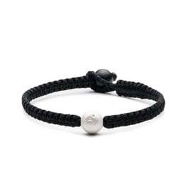 Lokai Single Wrap Black Bracelet