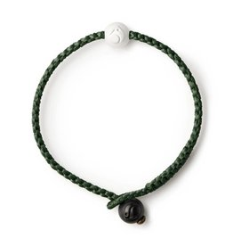 Lokai Single Wrap Olive Bracelet