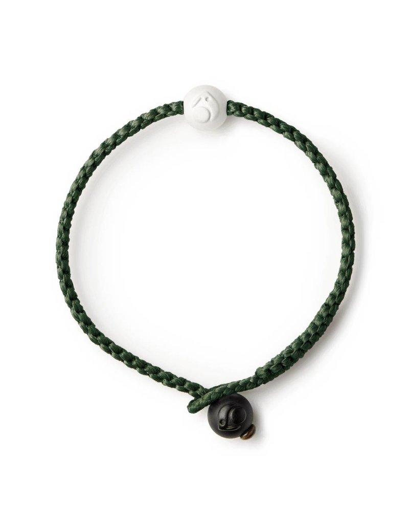 Lokai Single Wrap Olive Bracelet