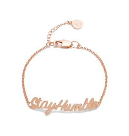 Lokai Humble ID Bracelet, Rose Gold
