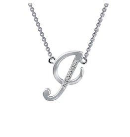 Lafonn Designer Pave Initial I Necklace