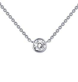 Lafonn Round Bezel Solitaire Necklace '