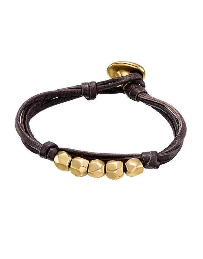 UNOde50 Vadebolas Gold Bracelet